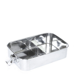 Meals in Steel Large Leakproof Lunchbox Bento Style