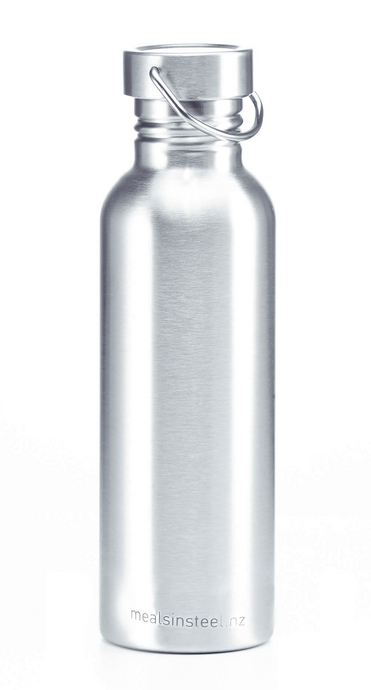 Meals in Steel - Plastic Free Stainless Steel Drink Bottles - 750ml