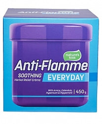 Anti-flamme everyday 450g soothes bumps, bruises, aches, pains and inflammation. Great value large tub.
