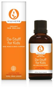 Kiwiherb De-Stuff For Kids (Organic) 50ml