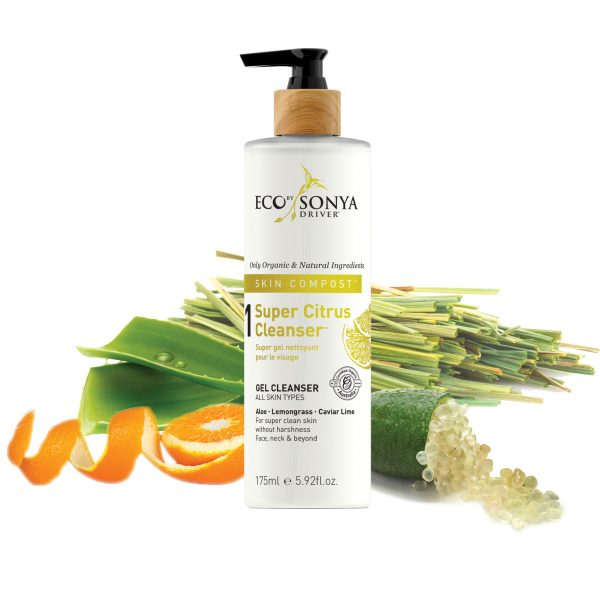 Eco Sonya Face Skin Compost Super Citrus Cleanser