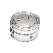 Meals in Steel Food Containers/ Lunchboxes - Stainless Steel, Plastic Free - On Sale!