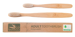 Go Bamboo Plastic Free Toothbrushes