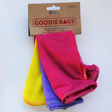 Goodie Bag Set of 3 - yellow, purple, pink