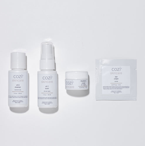 CoZi Skincare Essentials Travel Kit