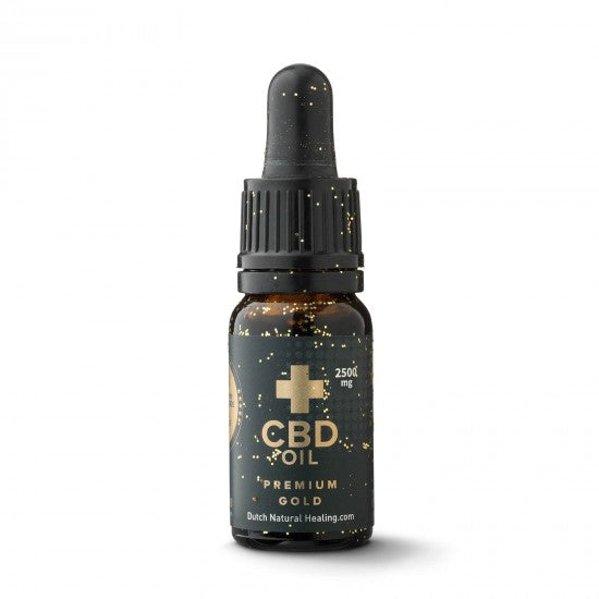 DUTCH NATURAL HEALING | Premium Gold | 2500 Mg | 10 Ml | 25%