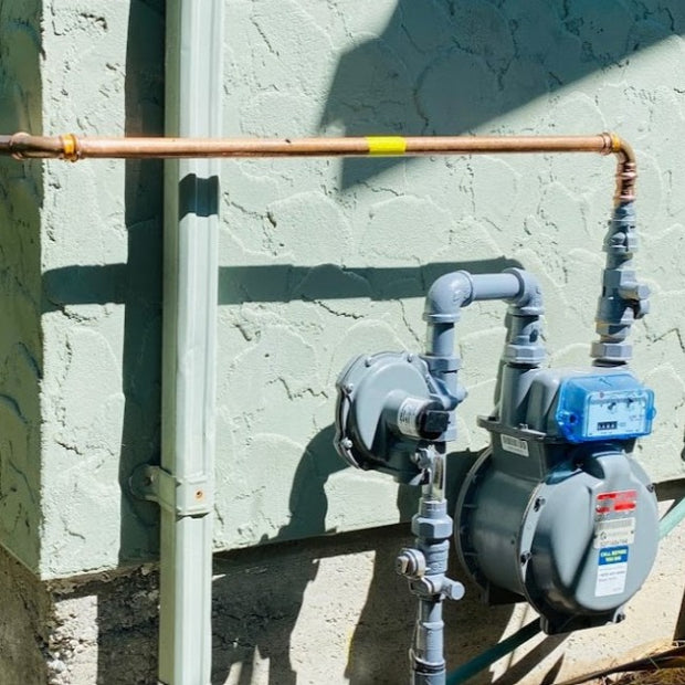 Gas meter and Propress gas line,Gas furnace, gas fireplace, gas boiler, gas tankless, Heat pump service and install and maintenance in Victoria, Langford, Sidney, Colwood, Saanich, Sooke, North Saanich, Central Sannich