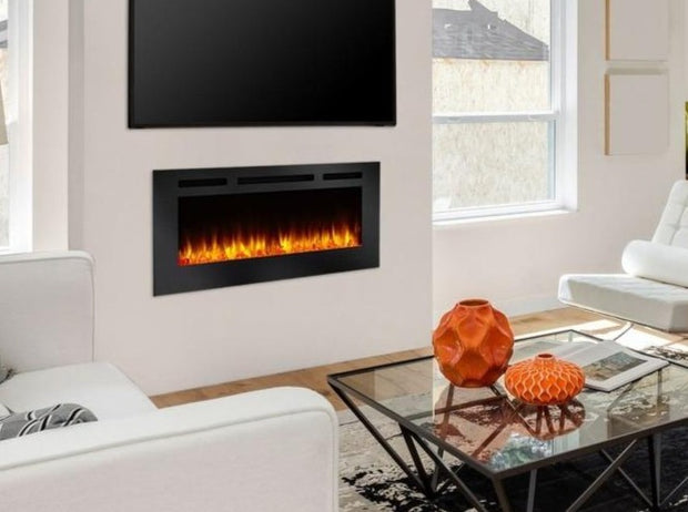 Electical fireplaces