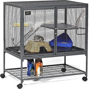 Critter Nation (Small Animal Habitat for Rats,Ferrets) cage