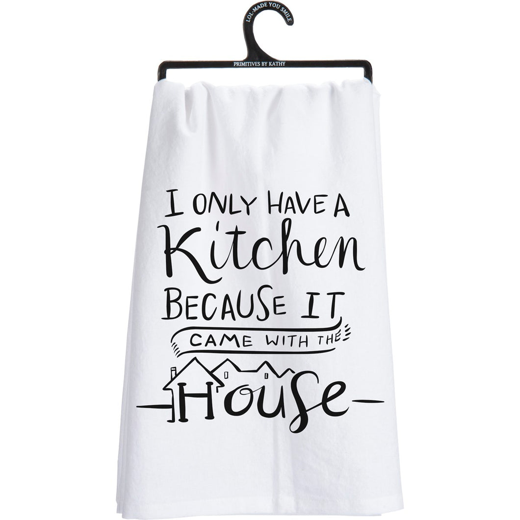 Came With The House - Tea Towel