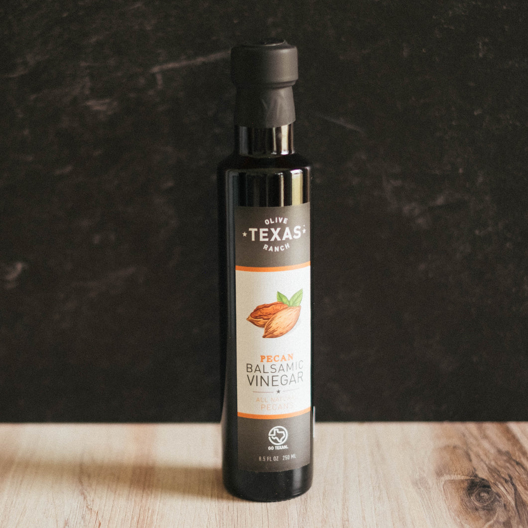 PECAN INFUSED RED BALSAMIC VINEGAR