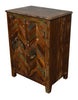 Reclaimed Rustic Night Stand Bedside Storage Cabinet