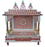 Traditional Hindu Worship Temple for rituals Pooja Mandir Mandap