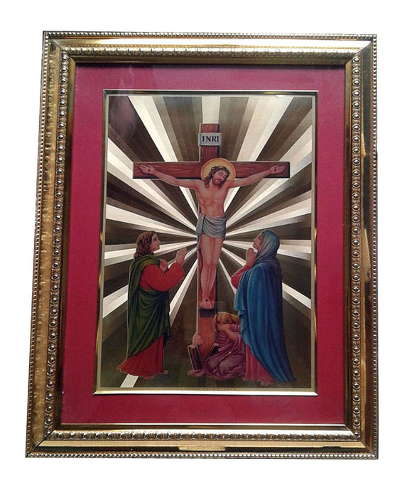 Golden Wall Photo Frame Jesus Spiritual