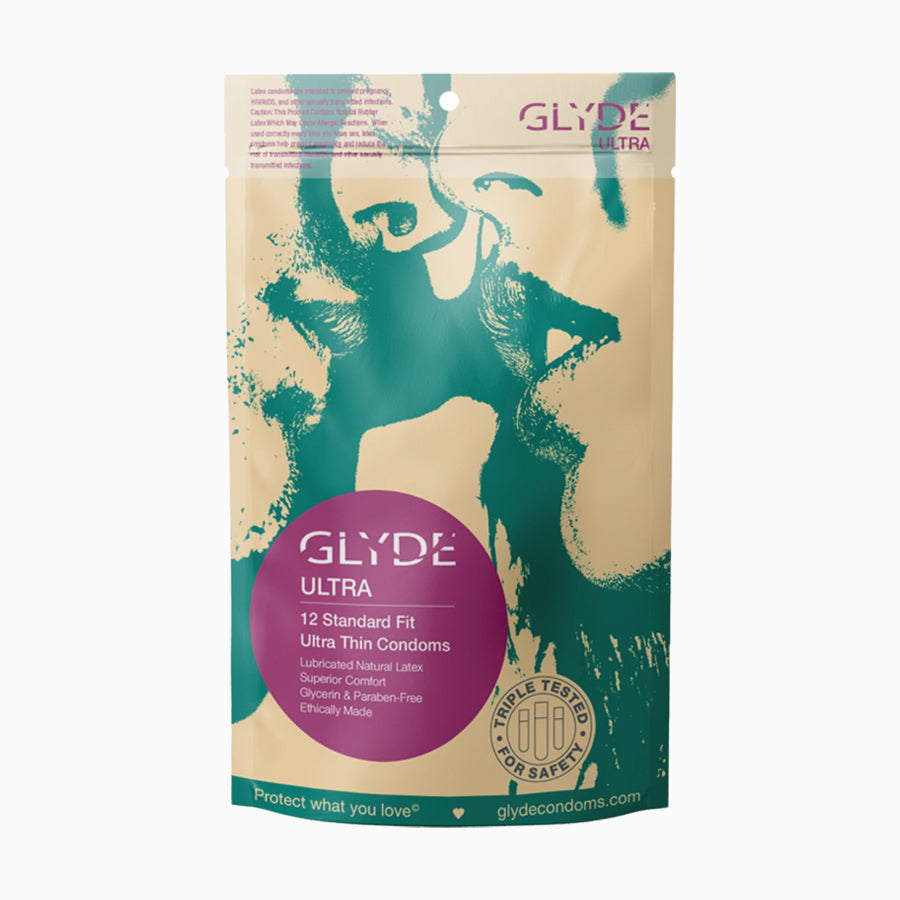 Glyde Ultra Standard Fit Condoms - 12 Pack