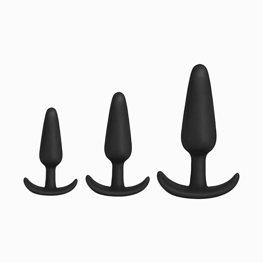 Silicone Anal Trainer Set