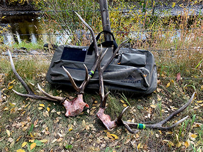 Rugid Bow Case with antlers