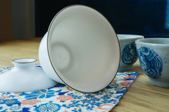Porcelain Pearl Brown Lip Gaiwan