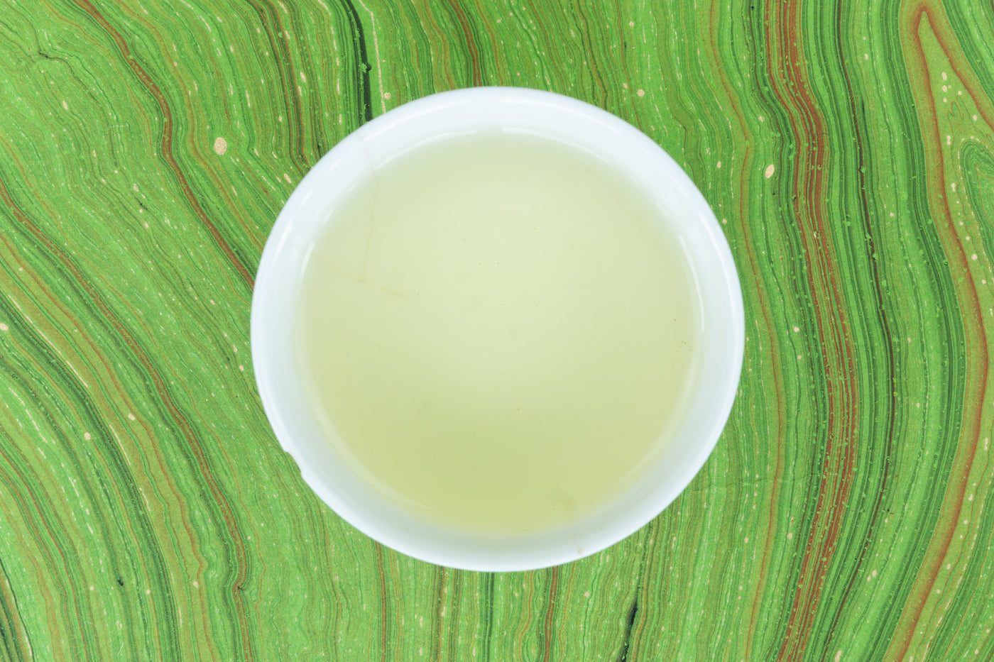 Snowy Egret Green Tea