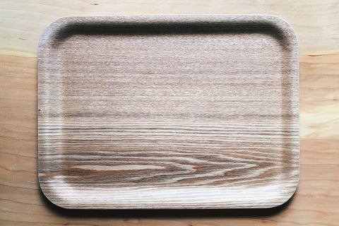 "Non Slip Tray Medium Rectangle 11""X8"" Willow"
