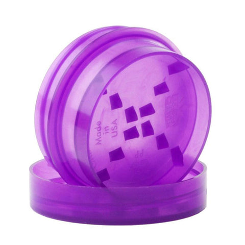 GrindTainer Mini - Purple Storage Container with Grinder by Dragon Chewer.