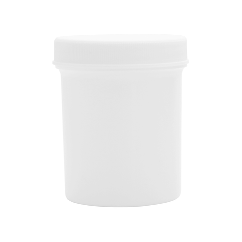 Plastic white ointment jars or containers for creams gels and ointments wholesale packaging supplies