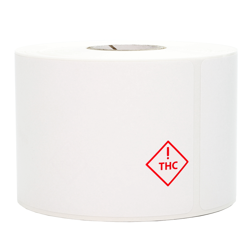 Colorado & Florida Thermal Printer Recreational THC Universal Marijuana Symbol (350 qty.)