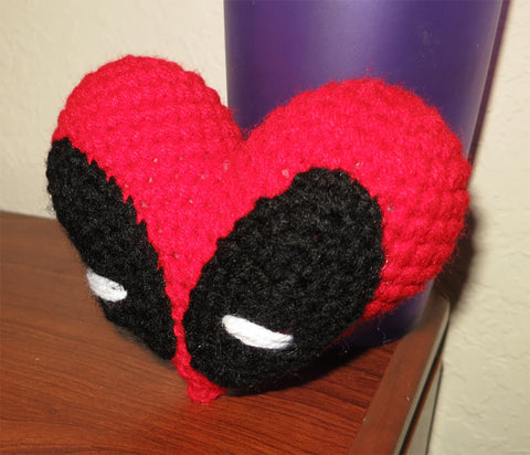 Valentine's Deadpool Heart Plush