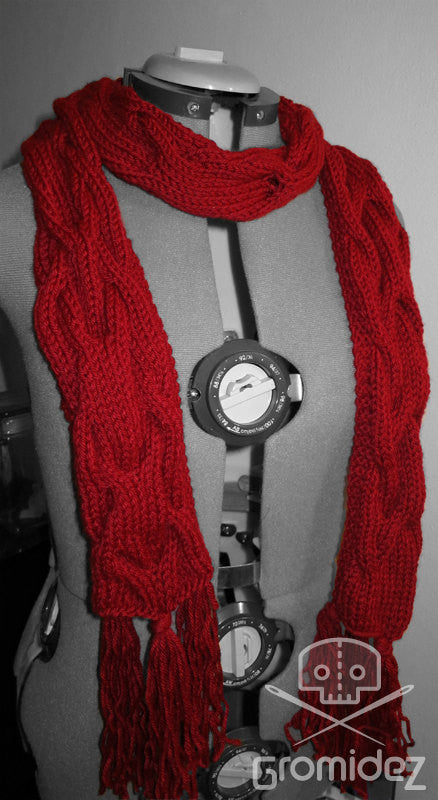 Doctor Who Amy Pond Pandorica Scarf