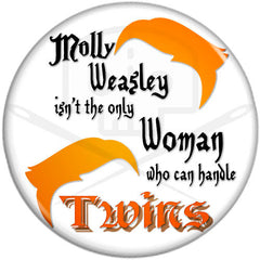 "Harry Potter Twins Innuendo 2.25"" Pinback Button"