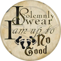 "Harry Potter - Inspired Up To No Good 2.25"" Pinback Button"