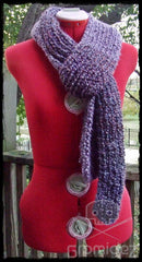 Supersoft Textured Scarf- Thick/Long- CUSTOM