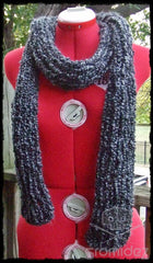 Supersoft Textured Scarf- Thin/Long- CUSTOM