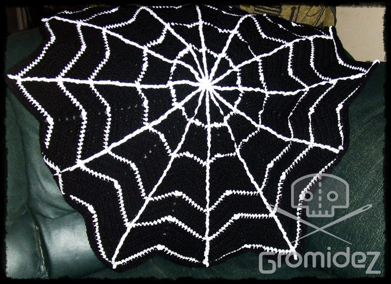 Spiderweb  Blanket - Large/Adult- CUSTOM