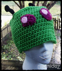 Invader Zim-inspired Beanie- Adult- Washable