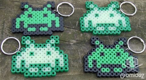 Space Invader Keychain