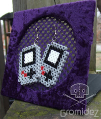 Gameboy Color Perler Earrings