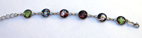 Classic Horror Fan Art Bracelet