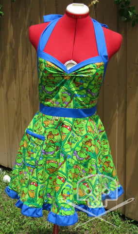 Teenage Mutant Ninja Turtles Vintage-Style Apron