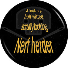 Star Wars - Inspired NERF HERDER button