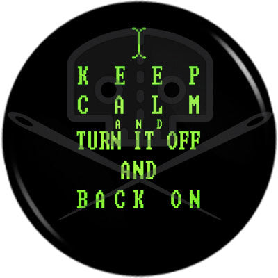 Computer Geek KEEP CALM button