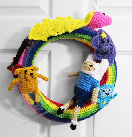 Adventure Time Character Wreath