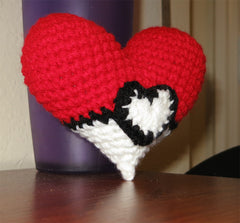 Valentine's Pokémon Pokéball Heart Plush