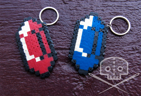 Legend of Zelda Rupee Keychain
