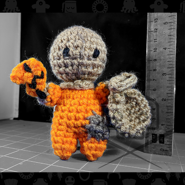 Horror Icon Collection- Trick R Treat - Inspired Sam Plush