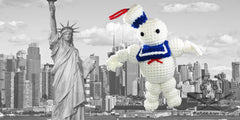 Ghostbusters Stay Puft Marshmallow Plush