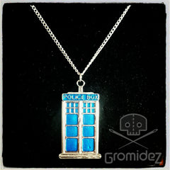 Doctor Who TARDIS Necklace