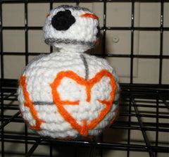 Valentine's Star Wars BB-8 Heart Plush