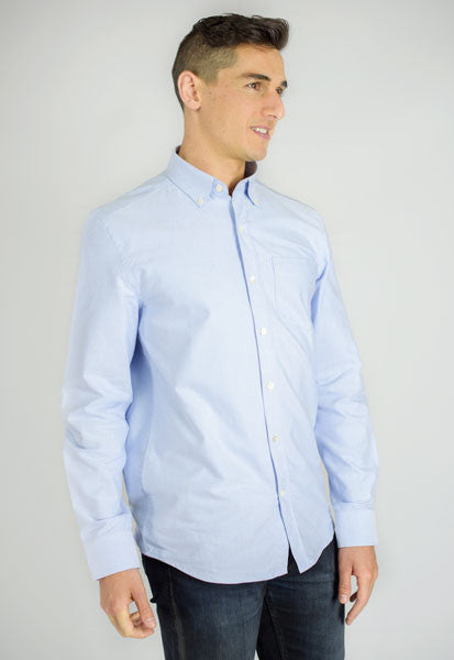 Men's Oxford Button-Down - Light Blue