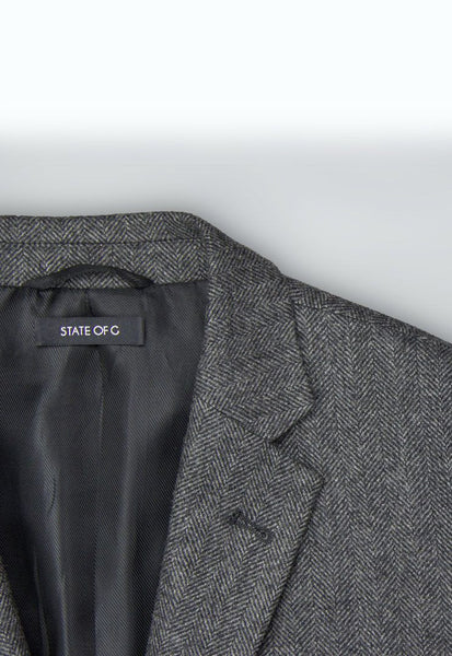 The Dean, Slim Fit (Charcoal Gray) - STATE OF G